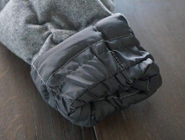 Rolled Cuff Nau Utility Wool Down Jacket For Men