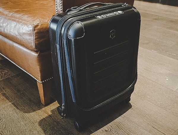 Rolling Carry On Bag Reviews Victorinox Spectra 2 0 Dual Access Global Suitcase