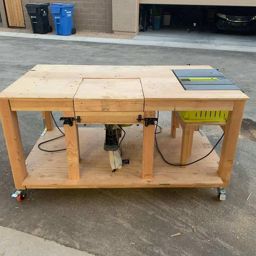 rolling work bench ideas spartanzero71