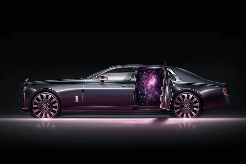 Rolls-Royce Phantom Tempus Takes You to the Stars