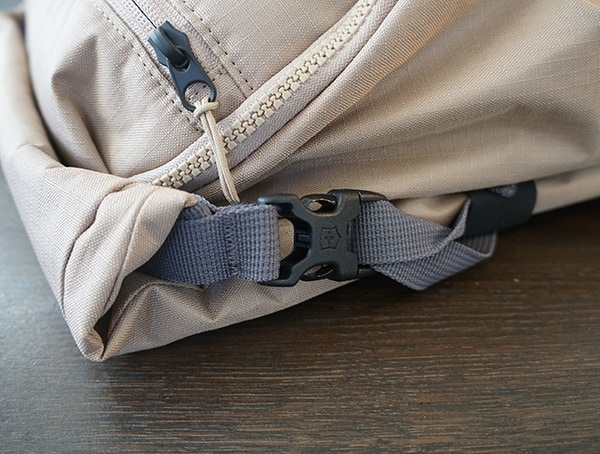 Rolltop Compression Straps And Buckles Victorinox Deluxe Backpack