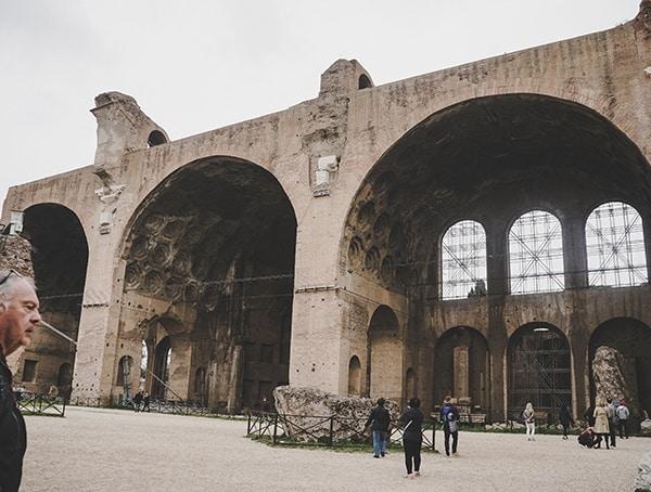 Roman Forum Basillica Maxentius