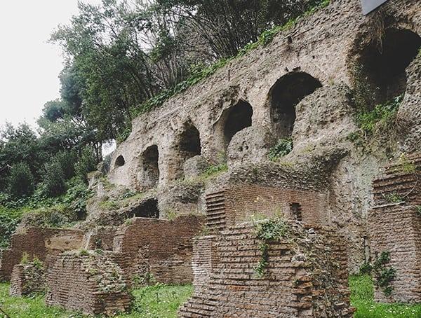 Roman Forum Entrance
