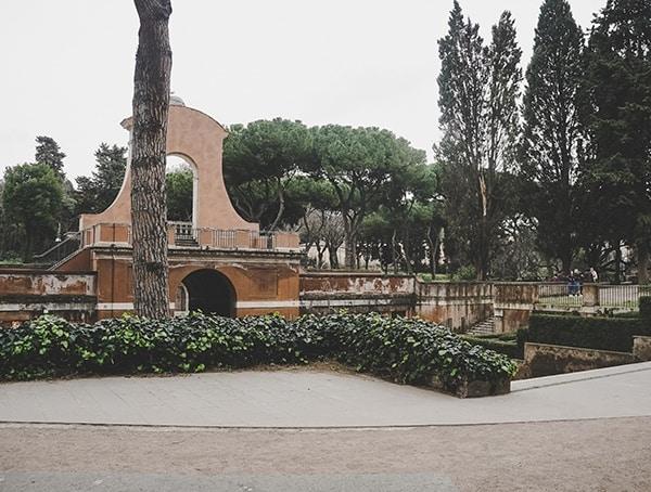 Roman Forum Walkway