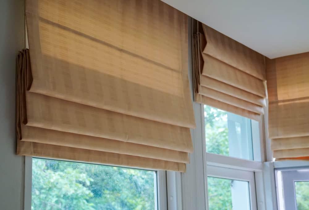 Roman Shades Window Treatments Ideas 2