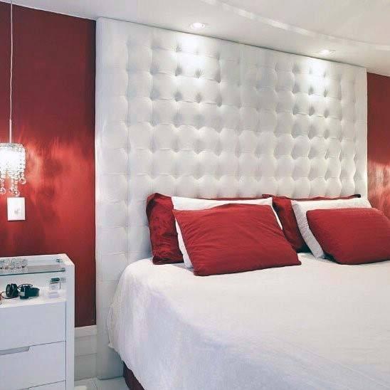 Top 30 Best Red Bedroom Ideas - Bold Designs