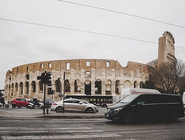 Rome Italy Colosseum Exterior