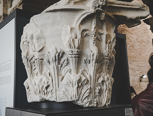 Rome Italy Guide Colosseum Stone Details
