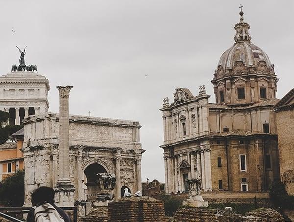 Rome Italy Roman Forum