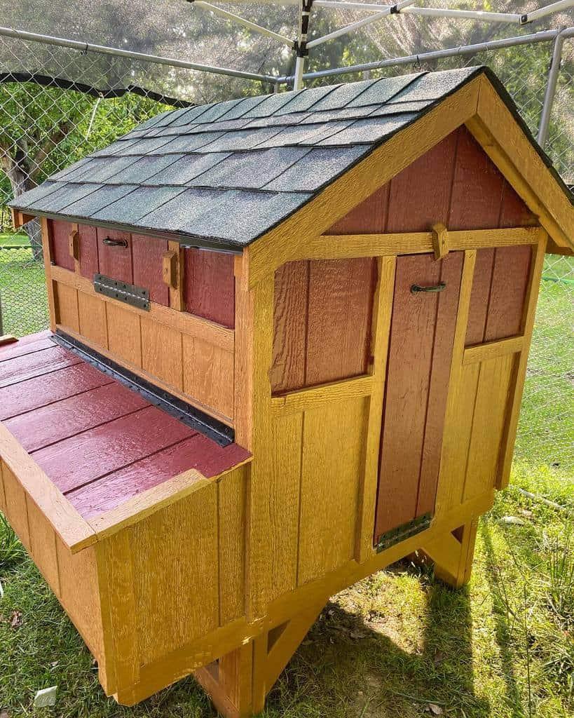 roof chicken coop ideas mommawoodbear_
