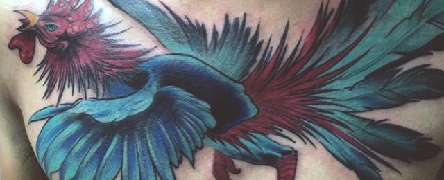100 Rooster Tattoo Designs For Men – Break Of Dawn Ink Ideas