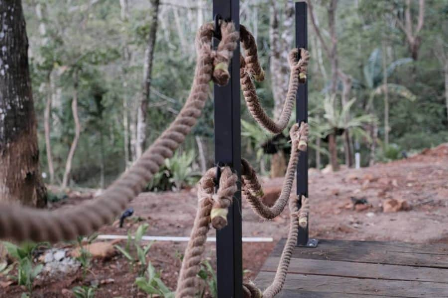 Rope Porch Railing Ideas Kuryakindesignbali