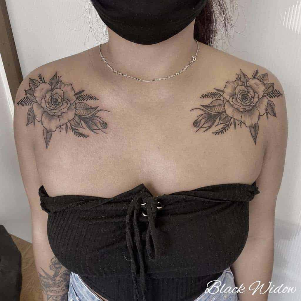 rose-flower-shoulder-tattoo-blackwidow_tattoostudiomalta