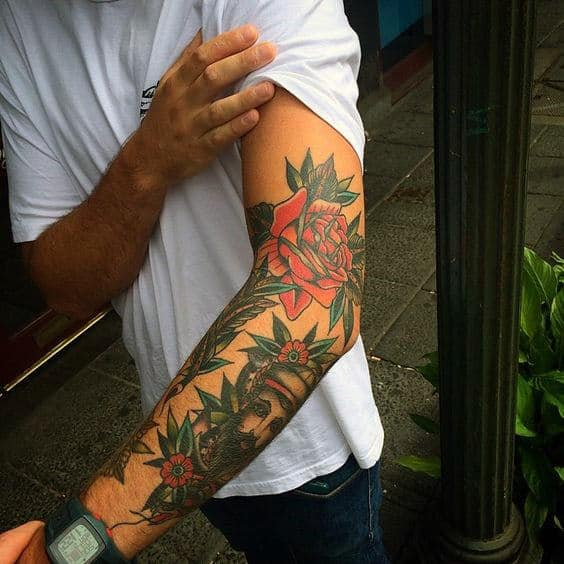 Top 59 Traditional Tattoo Sleeve Ideas 2020 Inspiration Guide
