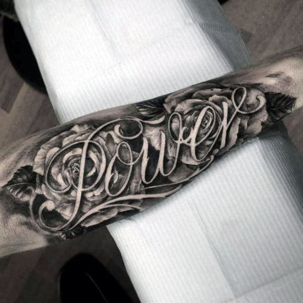 Tattoo Designs In Name: 50 Last Name Tattoos For Men