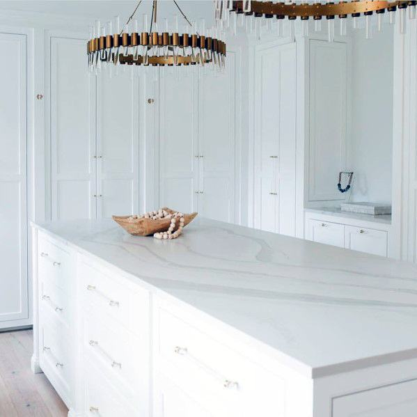Round Brass Chandeliers With Tube Leds Designs Kitchen Island Lighting