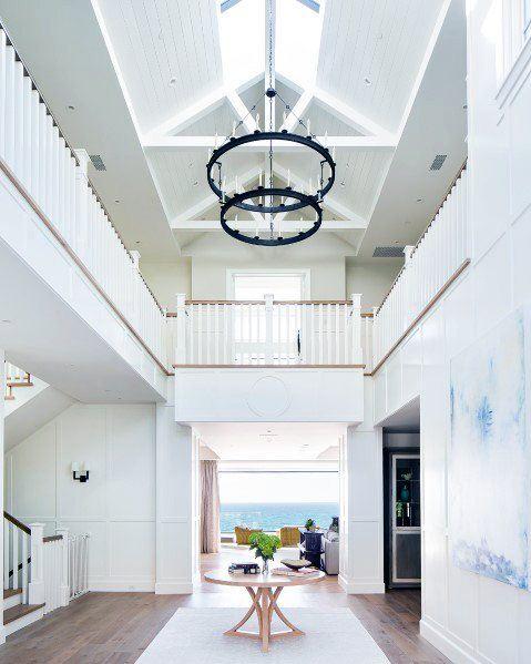 Round Chandeliers Luxury Foyer Lighting