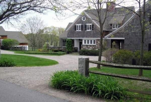 Round Driveway Gravel Design Ideas