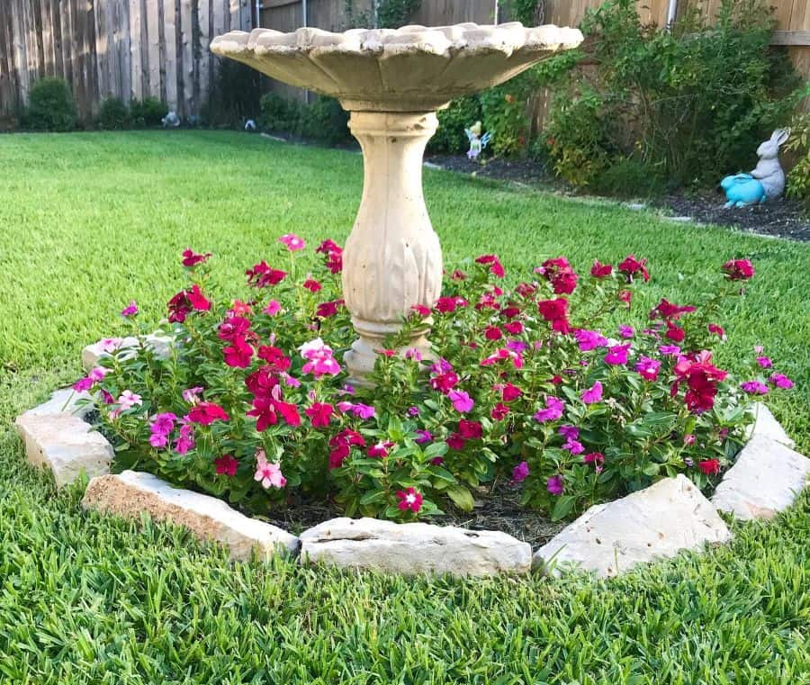 round flower bed ideas happinessandsweettea