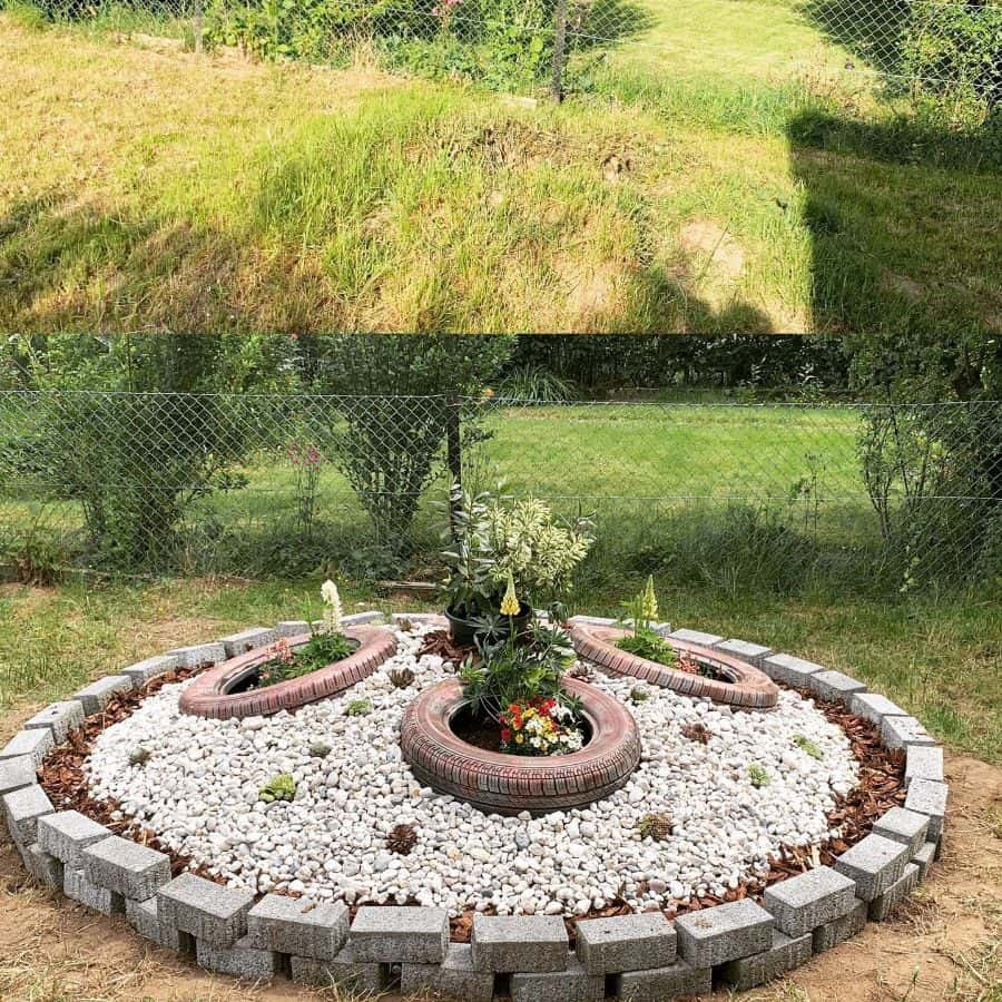 round flower bed ideas miss_vegas666