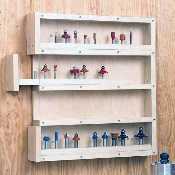 Router Bit Tool Storage Ideas