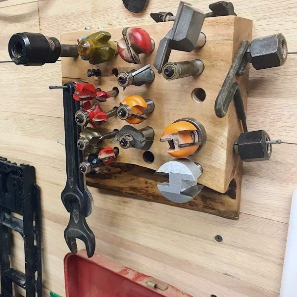 Router Bits Tool Storage Ideas