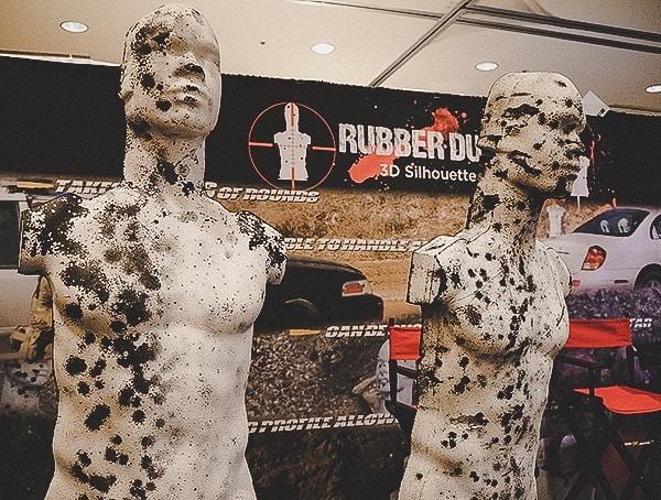Rubber Dummies 3d Shooting Targets