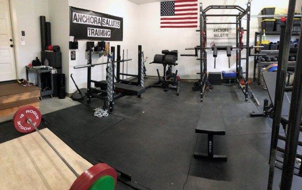 Rubber Flooring Ideas For Garage Gyms