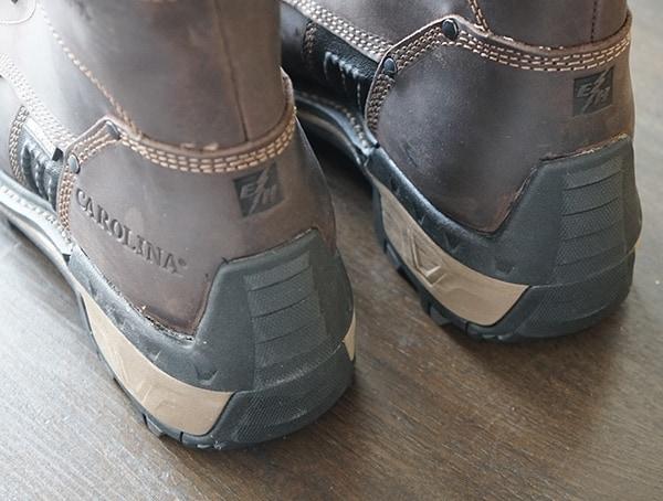 Rubber Heel Mens Carolina Maximus 2 0 Logger Boots