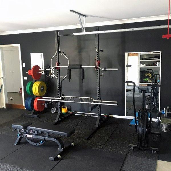 Rubber Mats Design Ideas For Home Gym Flooring