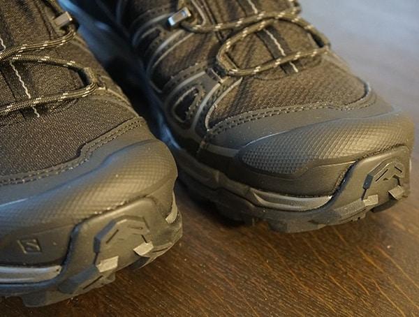 Rubber Toe Cap Salomon X Ultra Mid 2 Spikes Mens Gore Tex Shoes