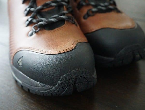 Rubber Toe Cap Vasque Mens St Elias Full Grain Gore Tex Boots