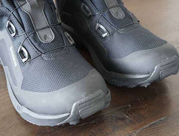 Rubber Toe Detail Icebug Walkabout Boots With Bugrip Gore Tex