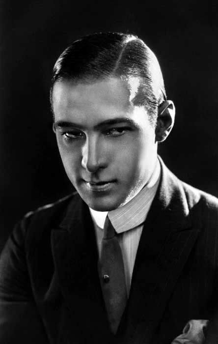 Rudolph Valentino 1920s Mens Old School Hairstyles For Gentlemen