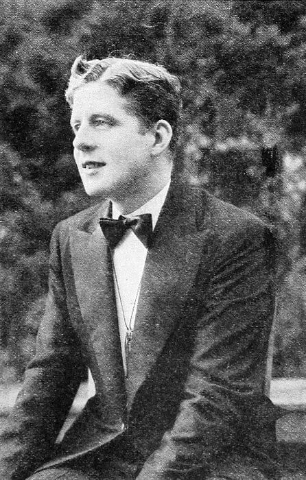 Rudy Vallee With Wavy Thick Hair 1930s