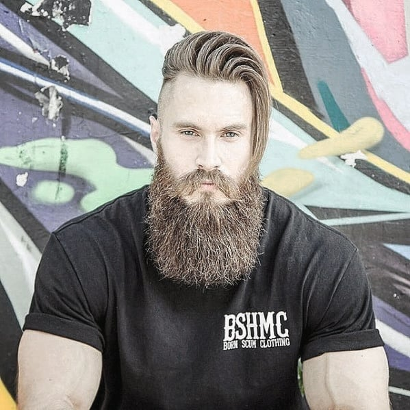 Rugged Big Beard Styles For Men