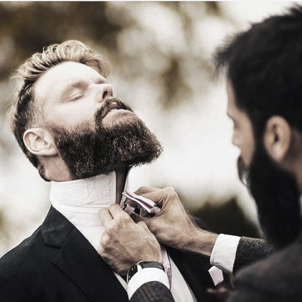 Rugged Classy Beard Styles For Men