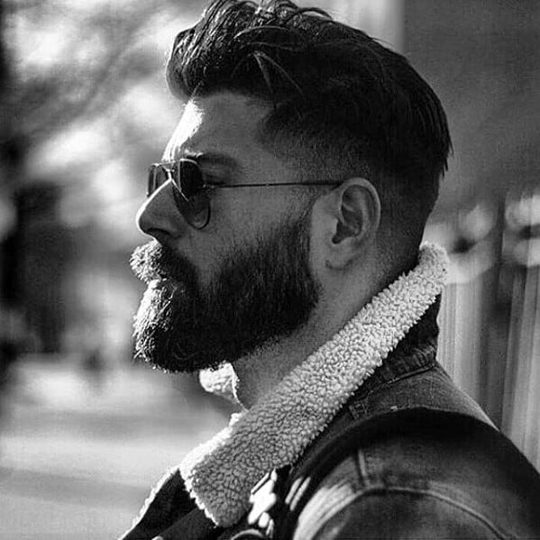 Rugged Cool Beard Styles For Men