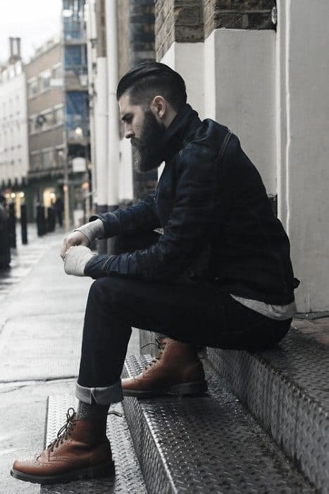 Rugged Distinctive Mens Boots How To Wear Outfits Styles