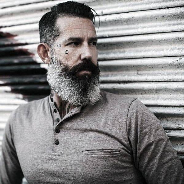 Rugged Grey Beard Styles For Men