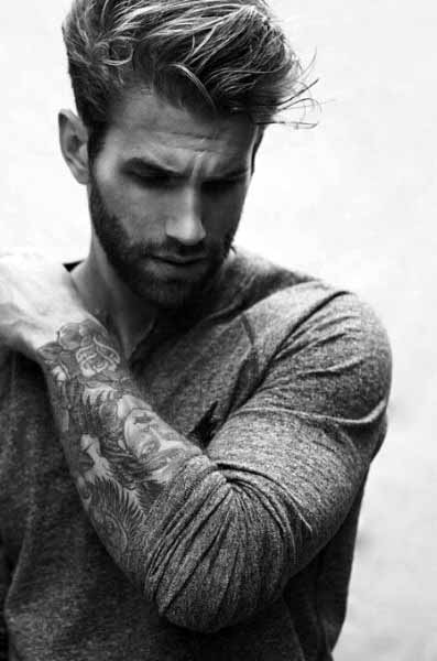 Rugged Male Modern Hairstyle Inspiration