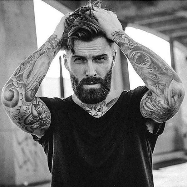 Rugged Medium Beard Styles For Men