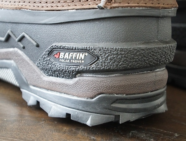 Rugged Outer Heel Detail Mens Baffin Control Max Boots