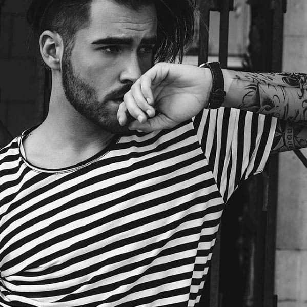 Rugged Short Beard Styles For Men
