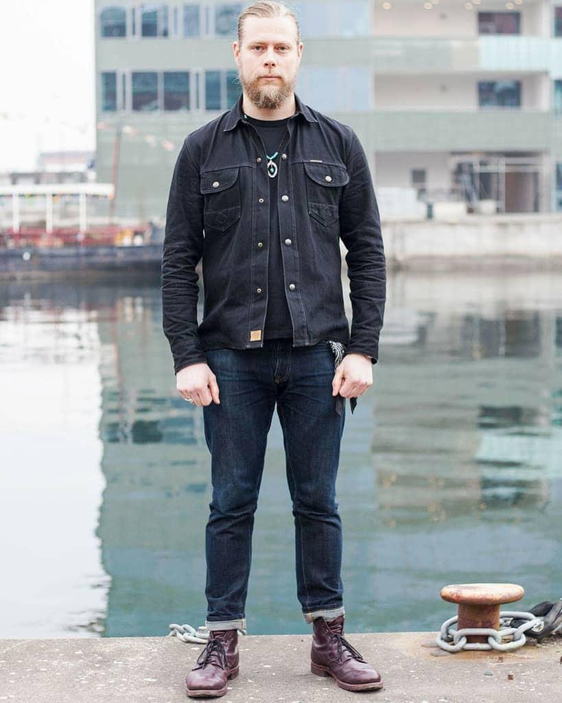 Rugged Style Denim Jacket