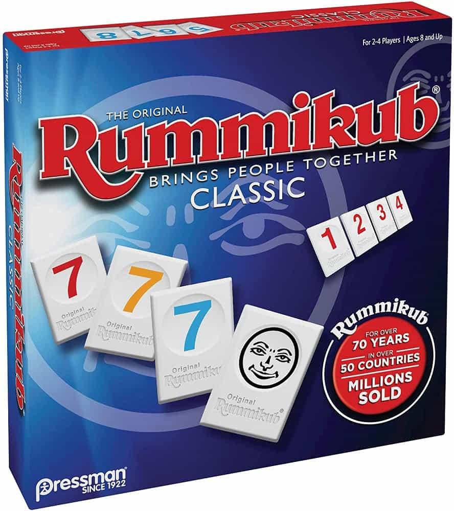 rummikub by pressman classic adult board game