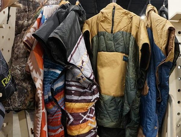 Rumpl Blankets Jacket Outdoor Retailer Winter Market 2018