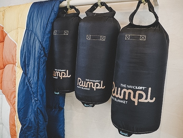 Rumpl New Nano Blanket With Compression Sack