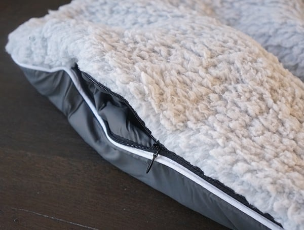 Rumpl Puffy Sherpa Blanket Zippered Side Hidden Pocket