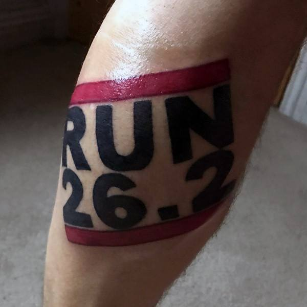 Run 26 2 Tattoo Designs For Men
